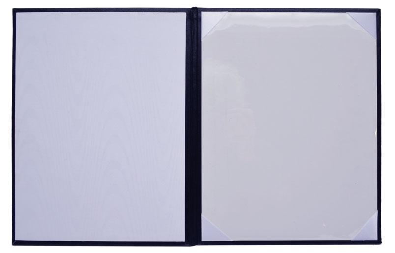 Turned Edge Certificate Folders With Custom Imprinting Certificate